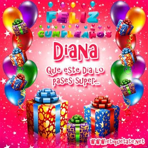 imagenes de feliz cumpleaños diana tarjetas de bendiciones memes