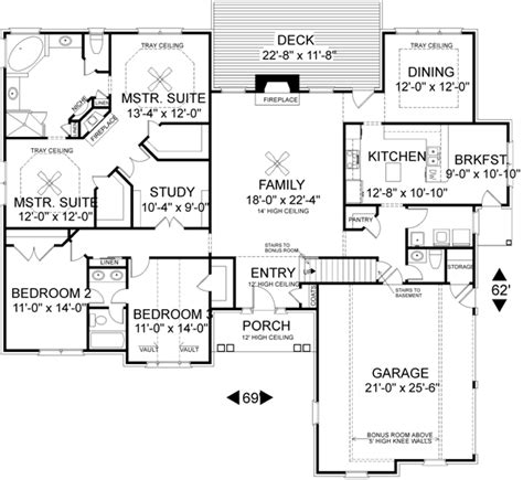 double master bedroom floor plans floorplan with double master bedroom so i don t have to