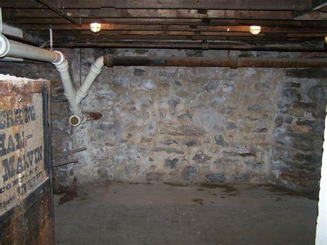 Basement Waterproofing   Fieldstone Foundations in