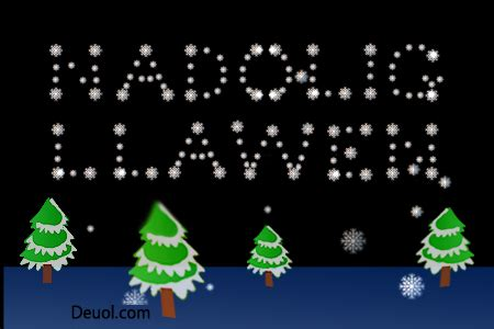 nadolig llawen christmas lights christmas lights card