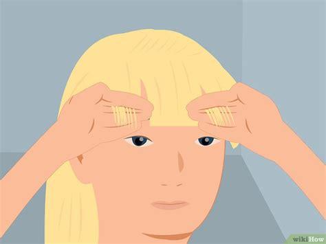 formas de cortar el pelo 3 formas de cortar el pelo de una chica wikihow