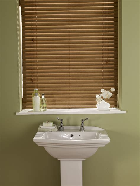 wooden blinds for bathrooms fauxwood venetian blinds bourne blinds