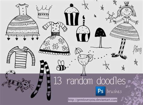 doodle brushes doodle brushes by gemlovesyou on deviantart