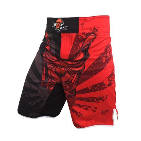 Mma Fighting Shorts Fitness Kick Boxing White Muay Thai mma s boxer shorts catch cage kick boxing