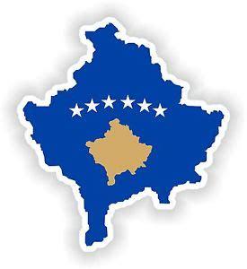 Helm Aufkleber Flagge by Kosovo Landkarte Flagge Aufkleber Silhouette Motorrad Auto