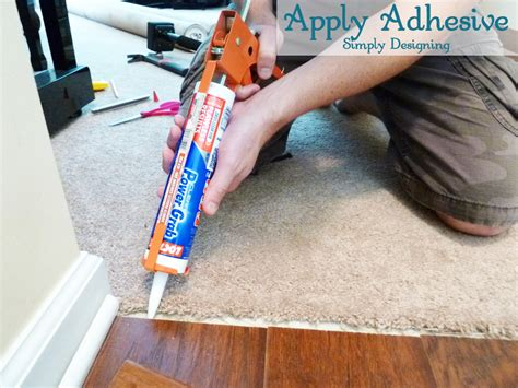 How to Install Floating Laminate Wood Flooring {Part 3