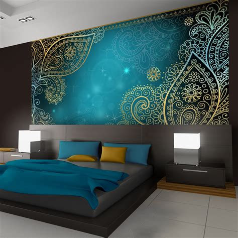 orientalische wandfarben vlies fototapete 3 farben zur auswahl tapeten orient
