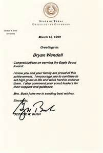 how to request congratulatory letters for your eagle scout