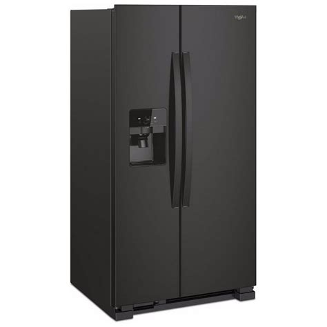 Water Dispenser With Refrigerator wrs325sdhbwhirlpool 36 quot 25 cu ft side by side