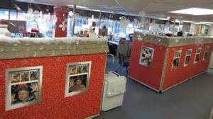 Cubicle Christmas Decorations Winners Announced For Decorate Your Cubicle Competition