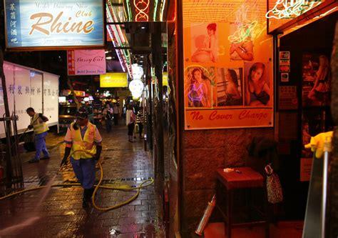 Hong Kong Light District by Horror Hits Hong Kong S Famed Light District Daily