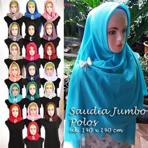 Jilbab Square Saudia Jilbab Segiempat Katun Rawis segiempat saudia jumbo sentral grosir jilbab kerudung i supplier jilbab i retail grosir