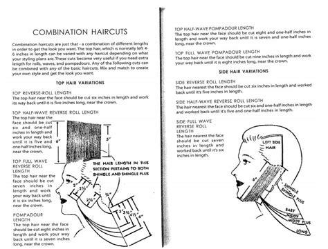haircut diagram haircut diagram for s mid century haircuts vintage