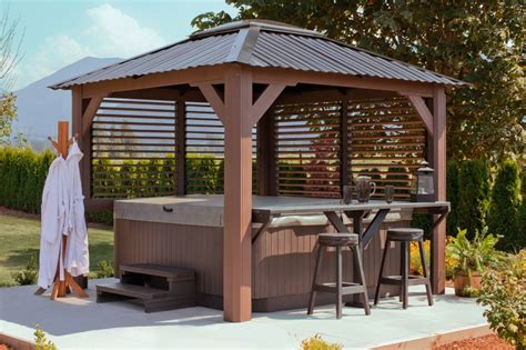 spa gazebo visscher specialty products at the place