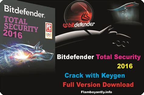 bitdefender antivirus plus 2016 full version with crack bitdefender total security 2016 crack with keygen full