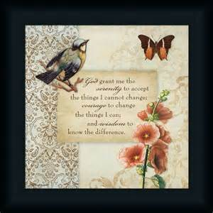 serenity prayer picture frame serenity prayer butterfly bird vintage style framed print wall d 233 cor picture ebay