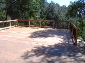 building a 24 x 20 deck on steep slope 5 steps with