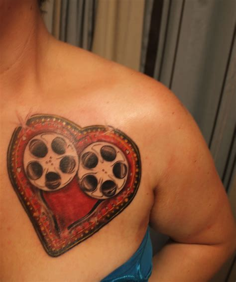 film reel tattoo designs reel