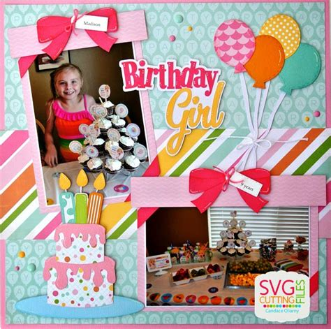 layout design for 1st birthday svg cutting files birthday layouts