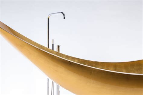 Hammock Bathtub Cost by Splinter Works Makes A Carbon Fiber Gold Vessel Hammock