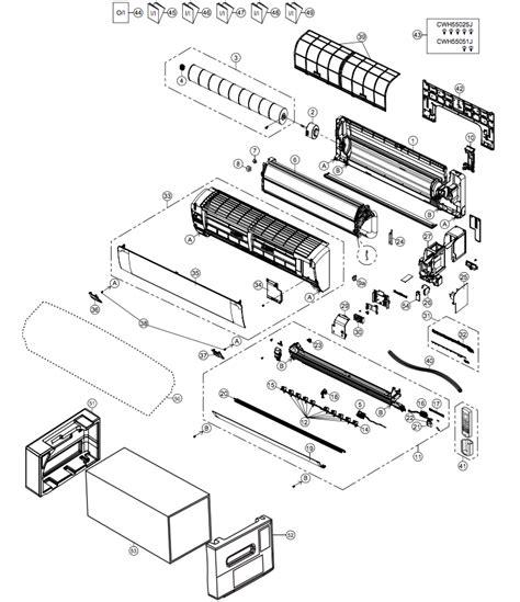 Spare Part Kipas Angin Panasonic panasonic cs he12pke cu he12pke panasonic spare parts per panasonic spare parts