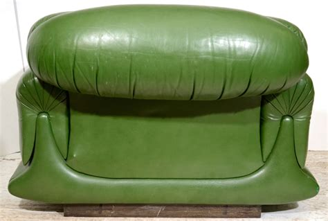 Overstuffed Lounge Chair Mod Overstuffed Green Leather Lounge Chair Image 7
