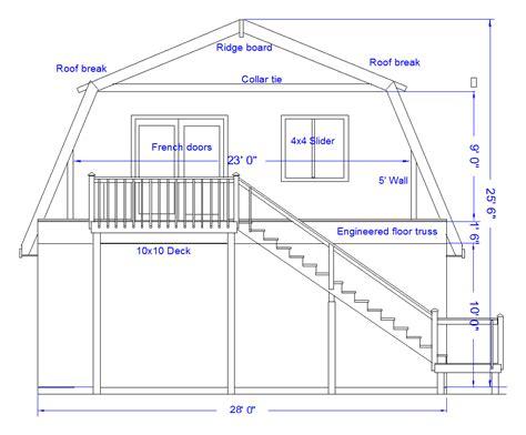 Gambrel roof plans free gambrel barn plans free gambrel shed plans