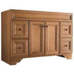Lowes Ryerson Vanity Shop Style Selections Ryerson Golden Traditional Bathroom