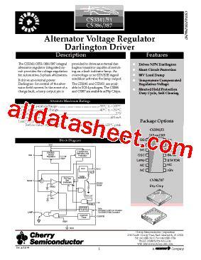 cs3351 datasheet pdf cherry semiconductor corporation