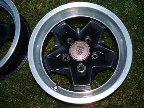 porsche cookie cutter wheels 4 porsche oem cookie cutter rims fs w center caps