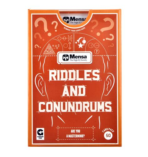 Menset Gamis mensa riddles and conundrums pink cat shop