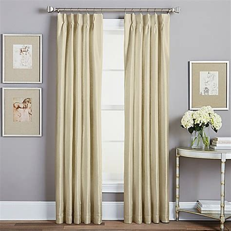 hanging 84 inch curtains spellbound pinch pleat rod pocket lined window curtain