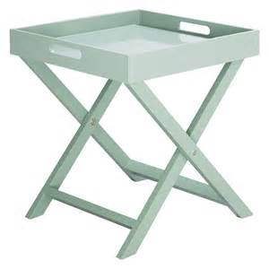 Folding Side Table Oken Green Folding Side Table Buy Now At Habitat Uk