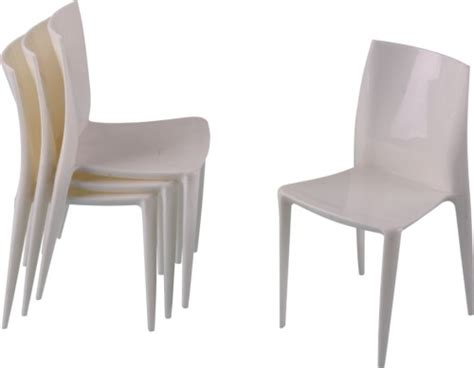 White Small Chair Luxury White Plastic Mini Side Chair For Children Desk