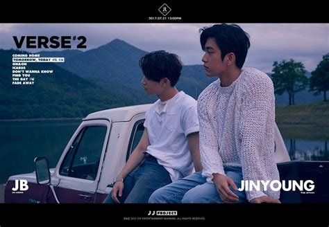 Poster Jj Project update got7 s jinyoung and jb feature in rustic teasers