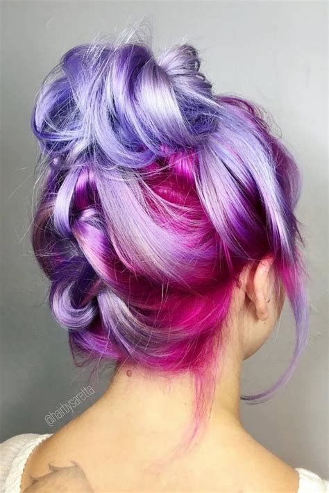 colored hair 25 best ideas about hair colors on colored