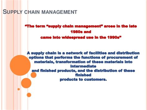 Best Affordable Mba Supply Chain Management by Supply Chain Management
