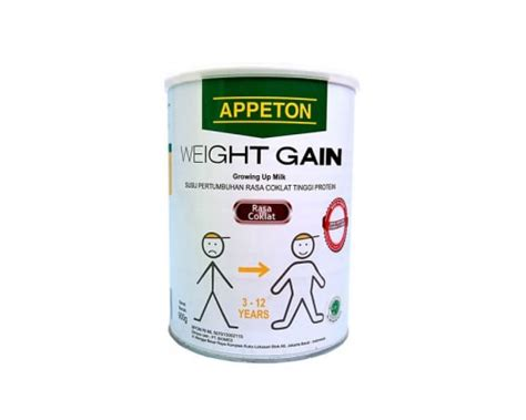 1 Kaleng Appeton Weight Gain penambah berat badan appeton weight gain importir