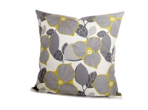 Grey And Yellow Decorative Pillows by Decorative Pillow Yellow And Gray 16x16 Yellow And Gray