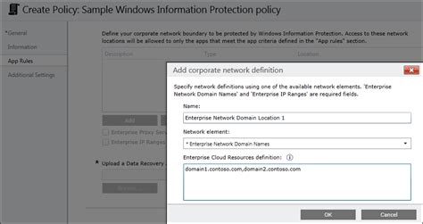 format exfat definition create a windows information protection wip policy using