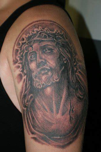 tattoo pain black jesus in pain black ink tattoo tattooimages biz