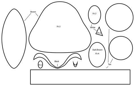 yoshi plush template yoshi plush template goomzilla sketch coloring page