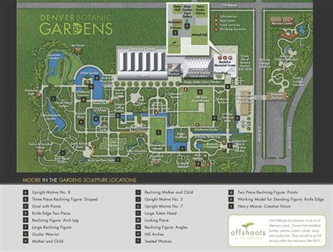 Denver Botanic Gardens Map Denver Botanic Gardens Maplets