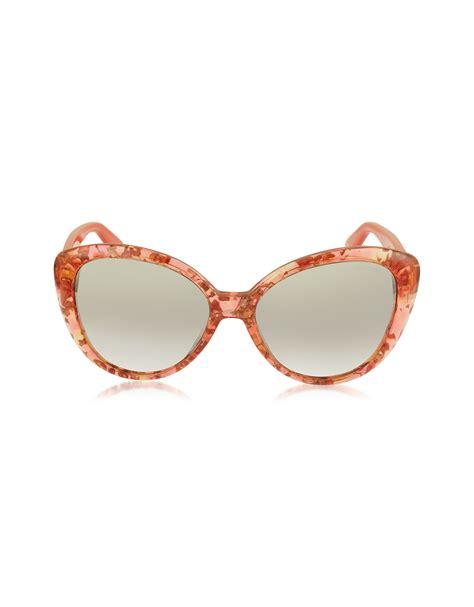 Cat Eye Original Orange jimmy choo alex sunglasses