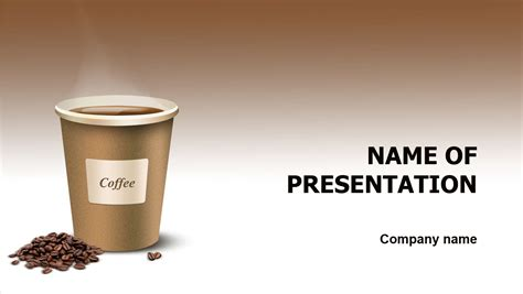 free download ppt themes coffee coffee taste powerpoint template for impressive