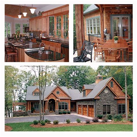 hillside house plans for sloping lots craftsman style hillside house plan 85480 is positioned on