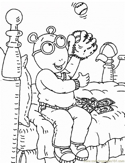 Free Printable Arthur Coloring Pages For Kids Arthur Colouring Pages