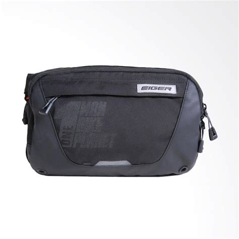 Eiger Jrp Wp Waist Bag 4 4l Black jual eiger jrp wp 4 4 l waist bag black harga