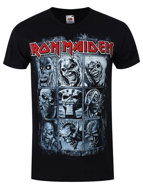 T Shirt The Iron iron maiden nine eddies s black t shirt ebay