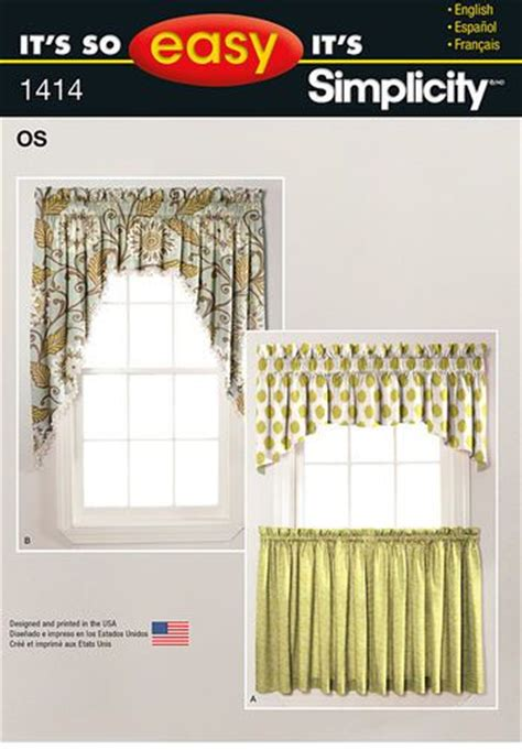 sewing curtains instructions it s so easy valances and cafe curtains sewing help and
